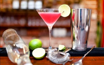 Hot Pink Barbie Mixed Drink | Pink Alcoholic Drinks
