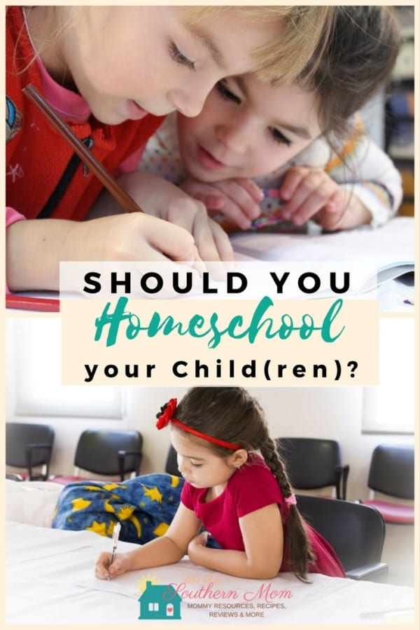 Should You Homeschool Your Children? Children need an education, but how they become educated solely depends on you, as the parent. You have a few different options. If you have the funds you could send your child to a private school or maybe even a boarding school