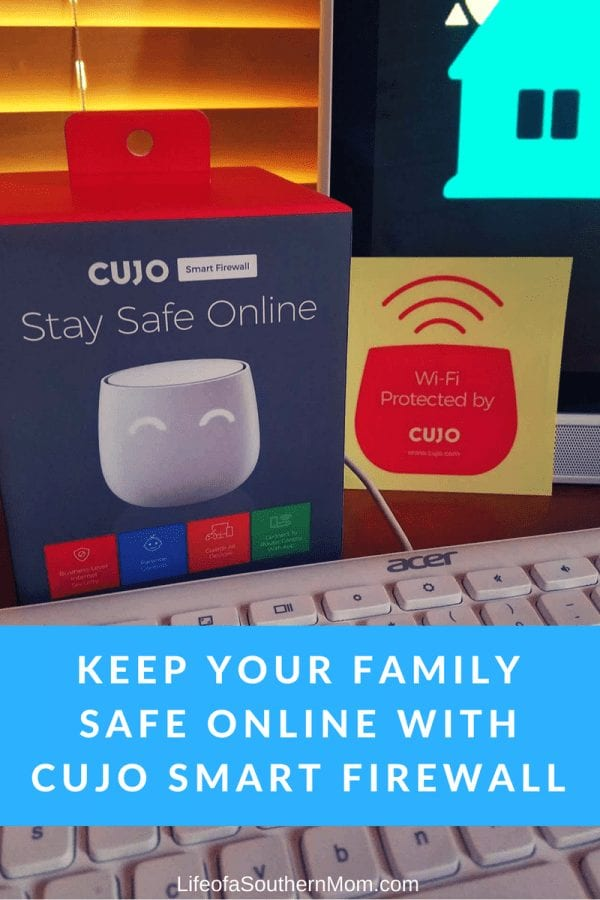 Keep Your Family Safe Online with the CUJO Smart Firewall #CUJO