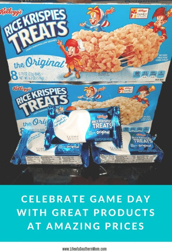 celebrate game day with Kellogg's® Rice Krispies Treats®