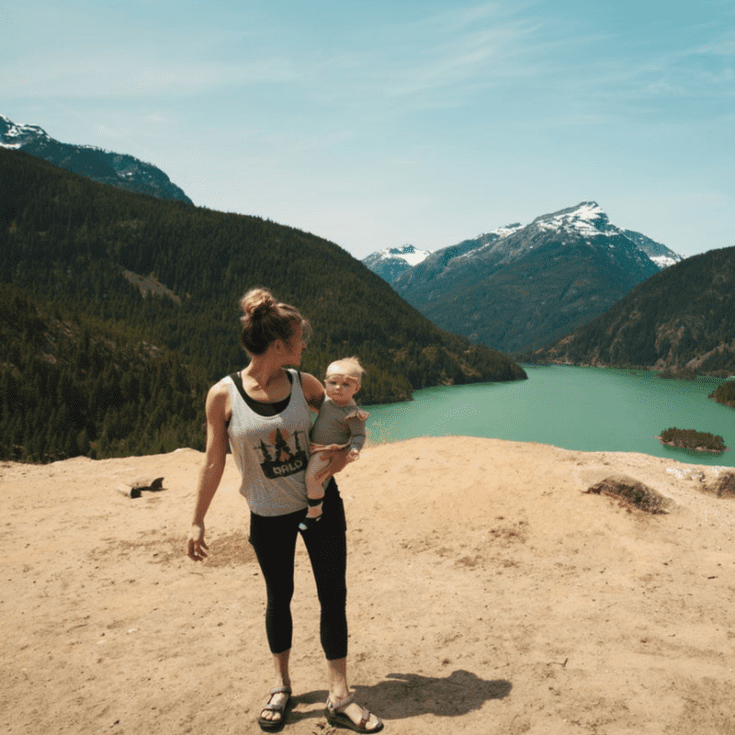 Fitness Mom and Baby