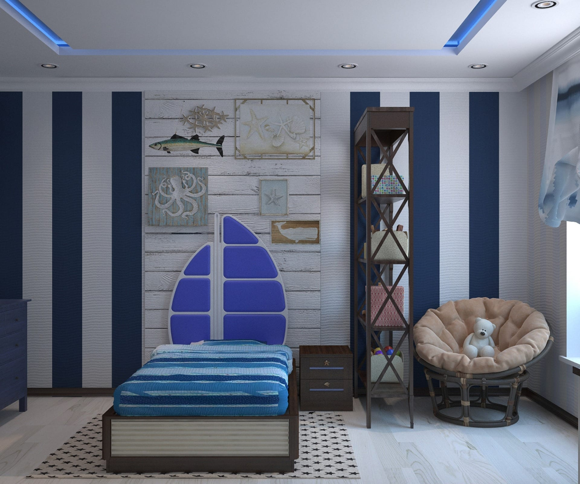 5 Decorating Tips For A Boy's Bedroom