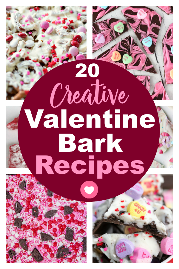 Creative Valentine Bark Recipes