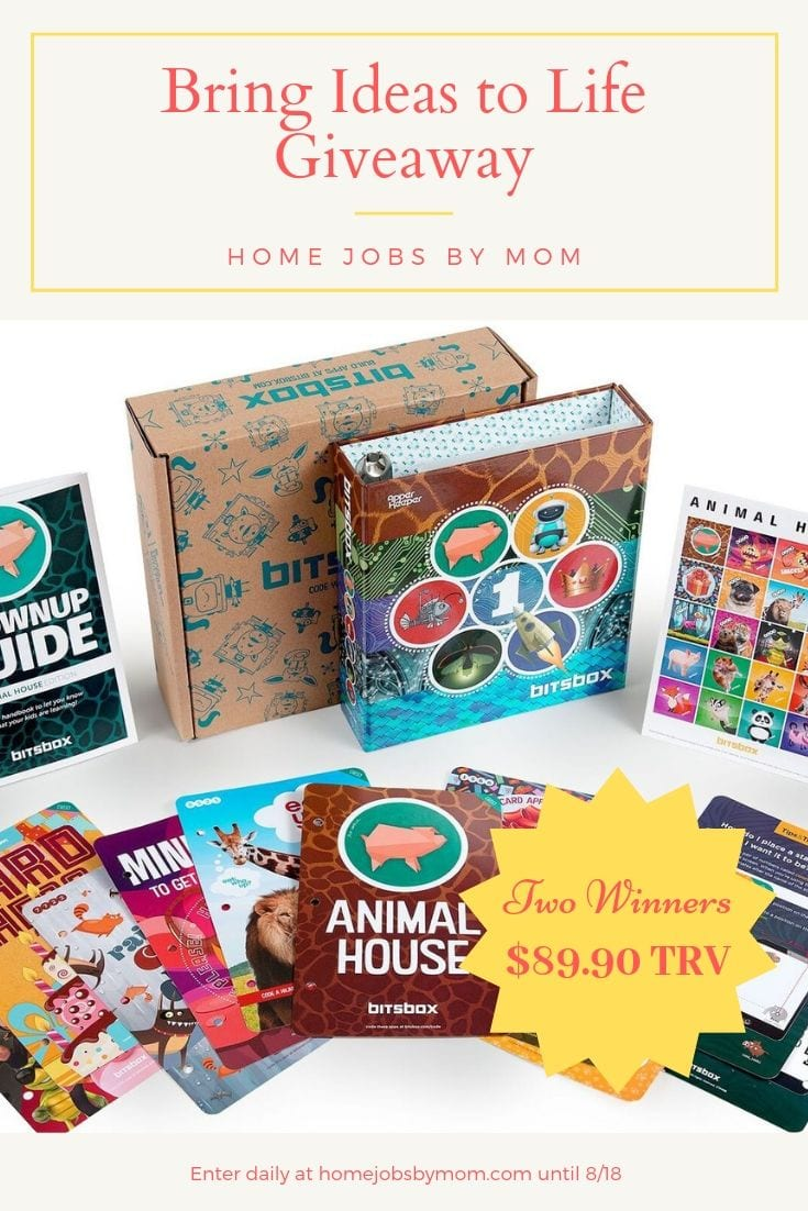 Bring Ideas to Life Giveaway! Ends 8/18